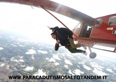 lancio paracadute biposto tandem